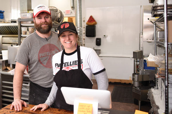 Couple opens Patellie's pizza shop in Three Oaks