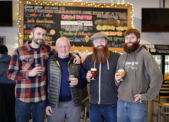 Sister Lakes Brewing Company fosters community on the shore