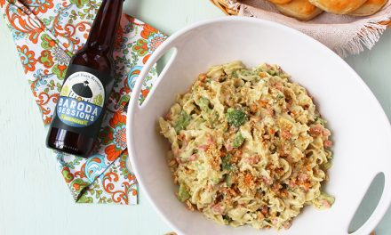 Dinner made easy: Ham and broccoli noodles