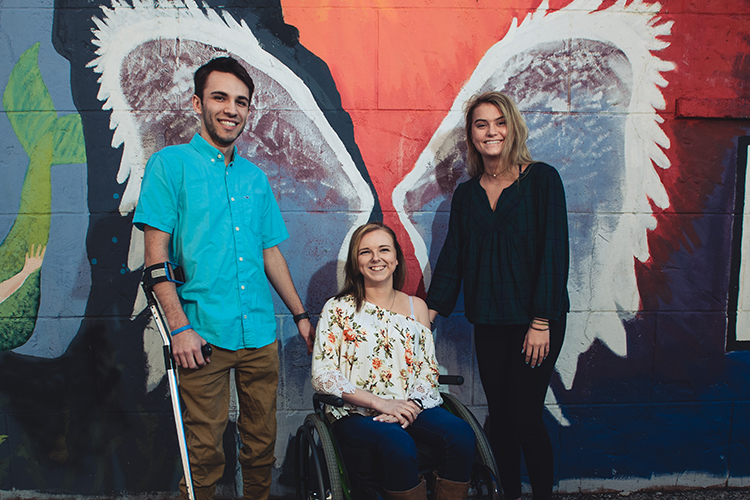 Three teens bounce back from tragedies stronger than ever
