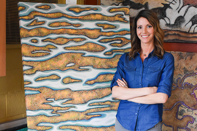 Benton Harbor woman uses creativity as outlet