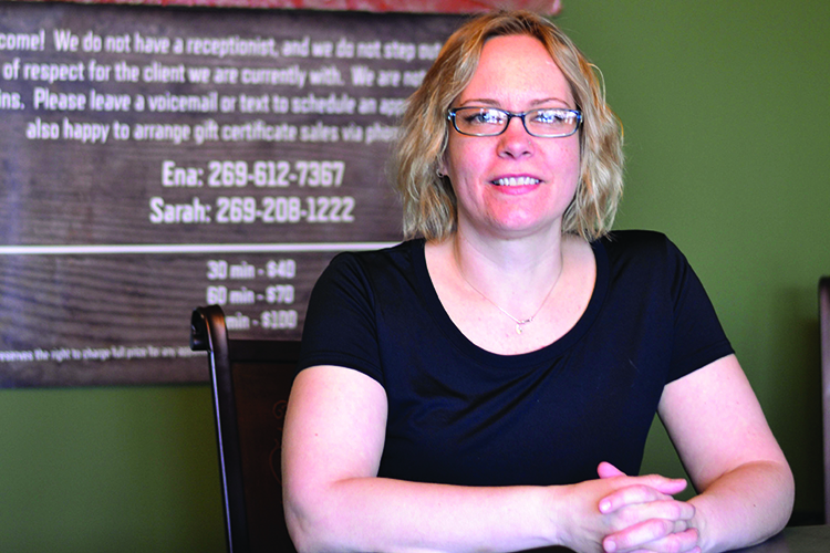 Bridgman business owner explains health benefits of massage therapy