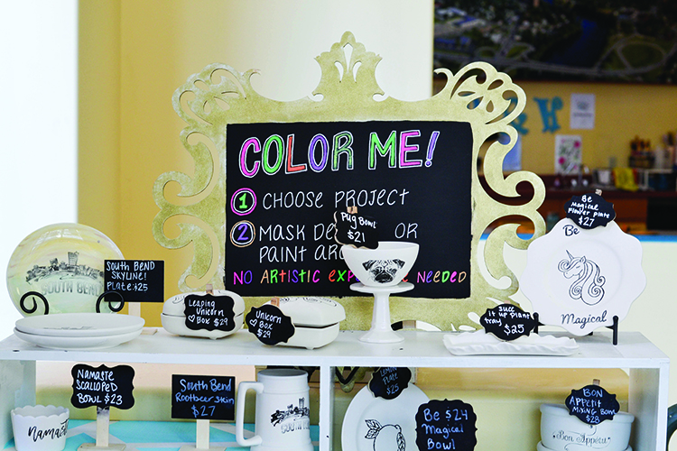 Michiana businesses offer make-your-own art adventures