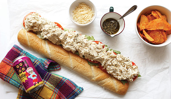 The perfect match: Sandwiches are an ideal pairing partner