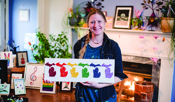 Local artist breathes new life into centuries-old art form