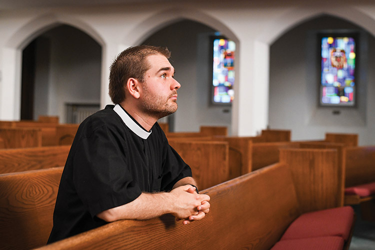 First United Methodist Church's youngest senior pastor connects past to present