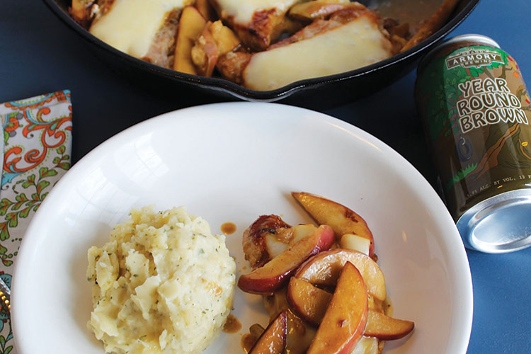 Get cozy with this autumn dinner, beer pairing