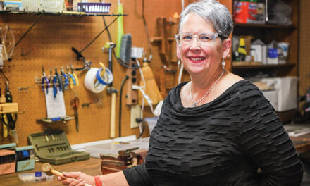 Mitten Beach Designs gives  recycled items a new lease on life