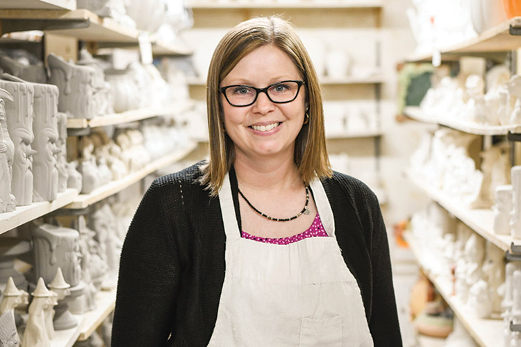 Third generation ceramic shop offers creative outlet