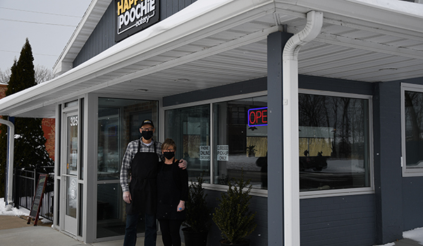 Happy Poochie Eatery is a restaurant for the people