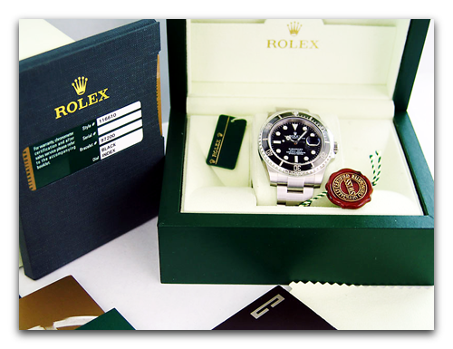 New Rolex Submariner in box