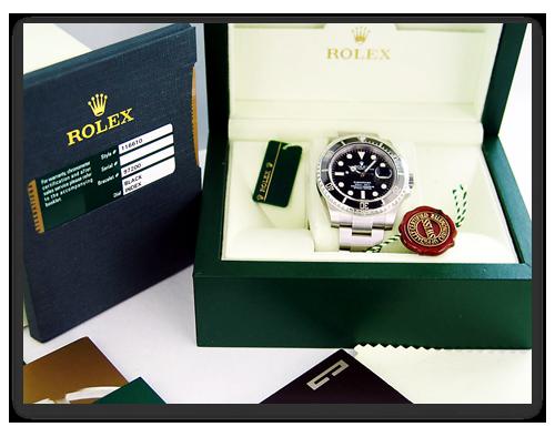 New Rolex Submariner in box