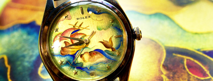 The rare 1949 Oyster Perpetual model
