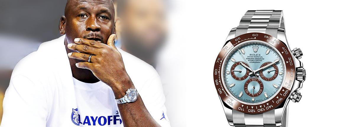 Michael Jordan Rolex Daytona Platinum