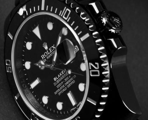 Blaken Rolex Watch
