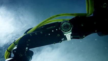 Rolex Deepsea in ocean
