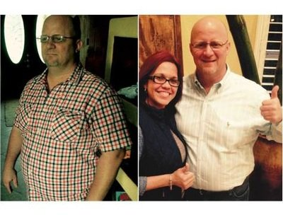 Tim lost 49 pounds