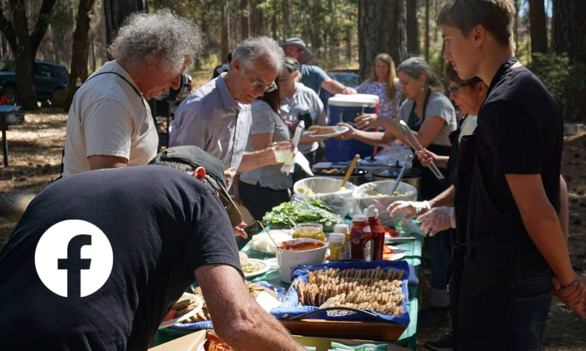 """Image of FOBM gathering """"feed"""" at Boggs Mountain Demonstration State Forest"""