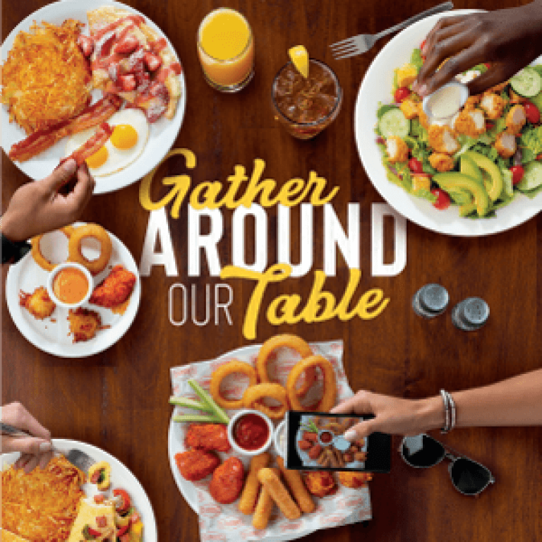 Gather Around Our Table - National Menu