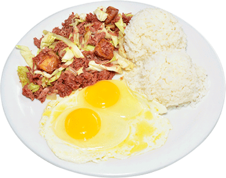 Corn Beef and Eggs