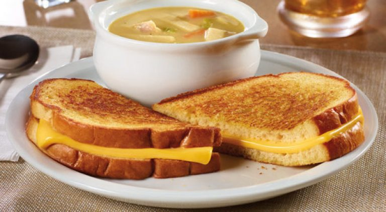 +55 Grilled Cheese Sandwich & Soup