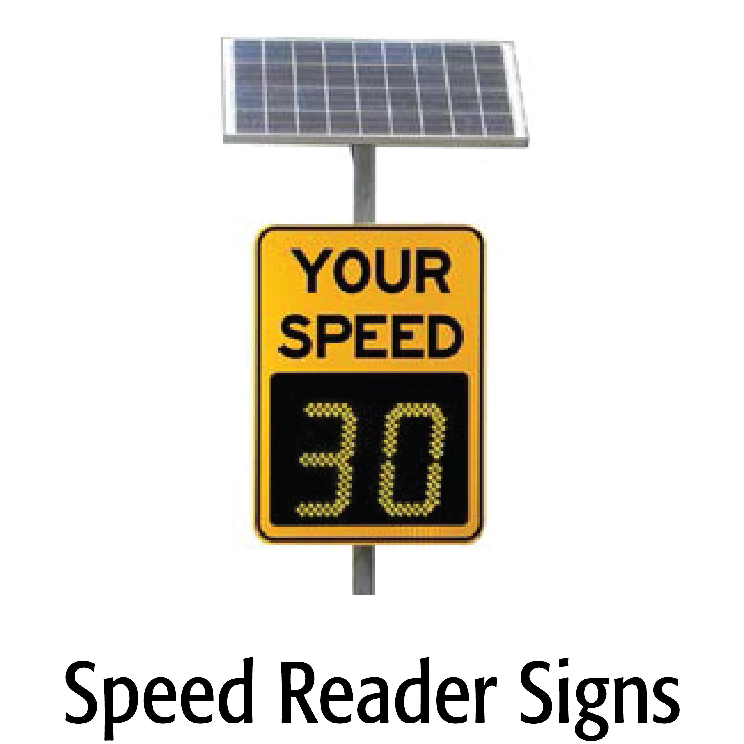 Speed Reader Signs