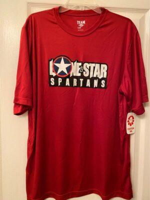 Scarlet red tech shirt