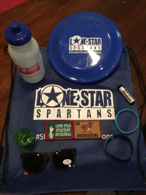 Lone Star Spartans swag pack