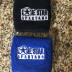 Lone Star Spartans Embroidered Wristbands