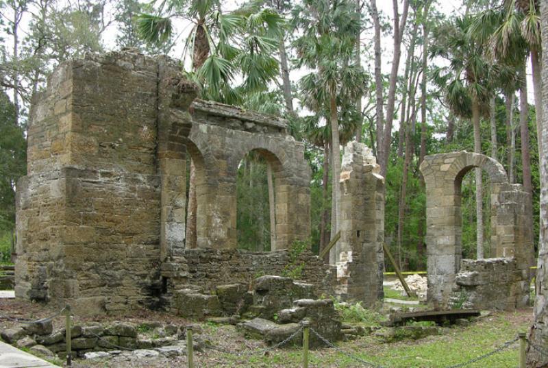 New Smyrna Sugarmill Ruins_visit Florida_Vacation rental