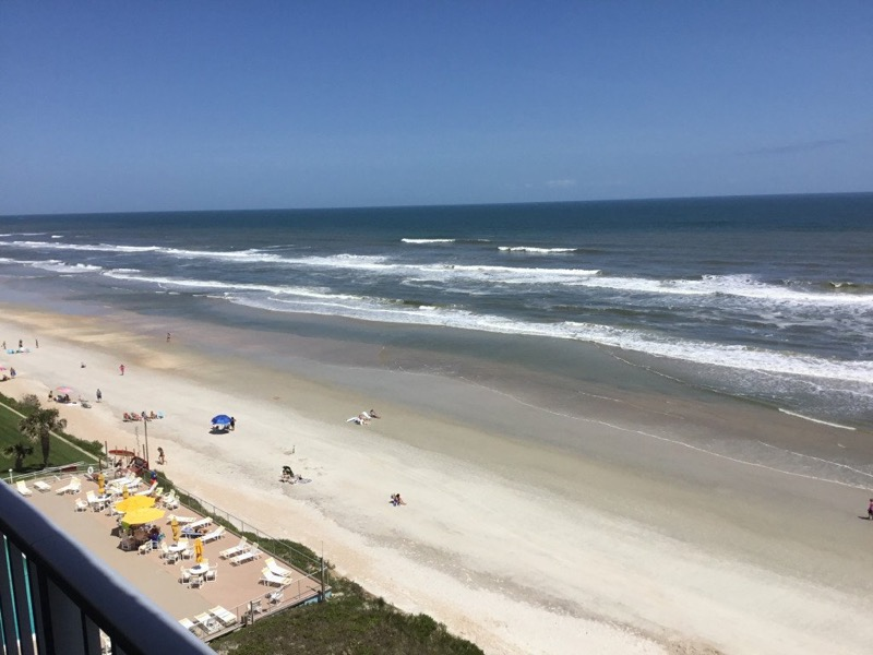 Florida condo_New Smyrna Beach view