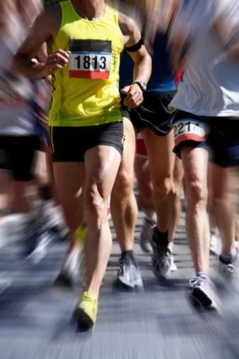 running marathon