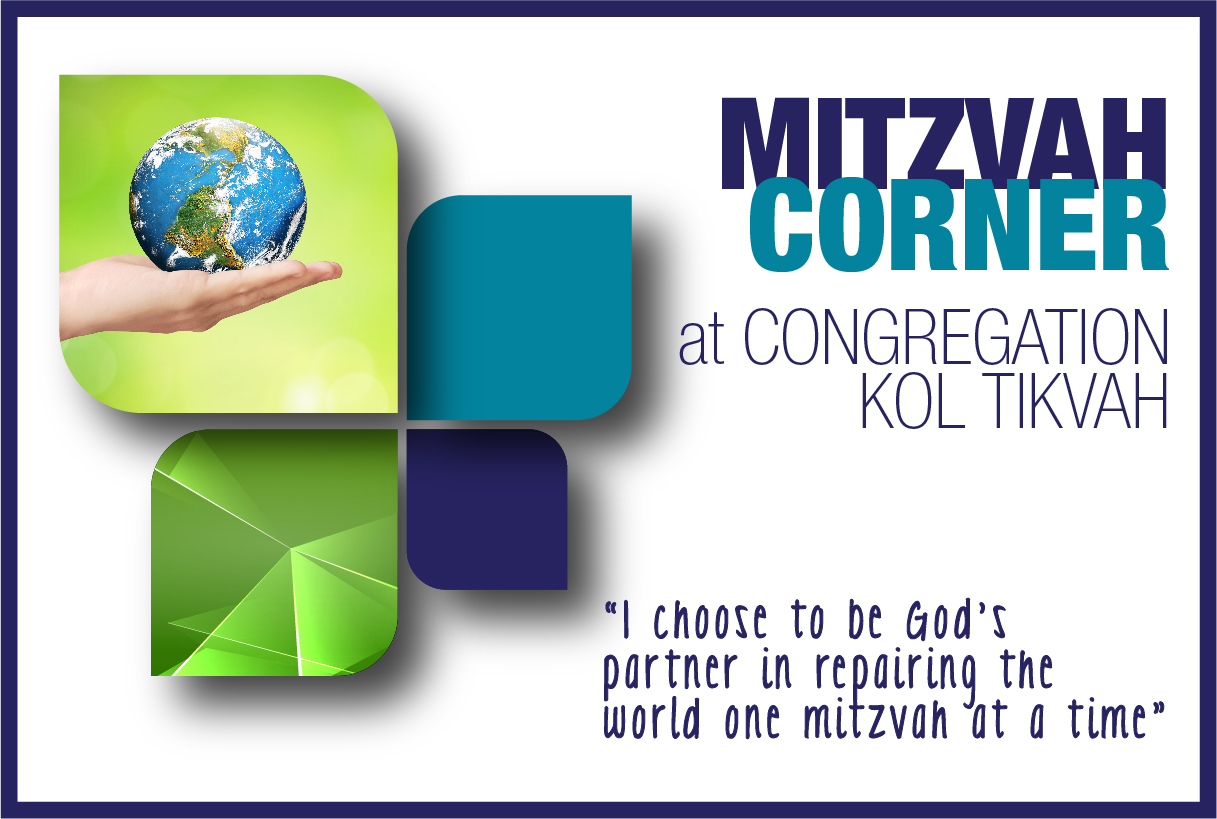 MITZVAH CORNER--HOW YOU CAN HELP SPREAD KINDNESS!