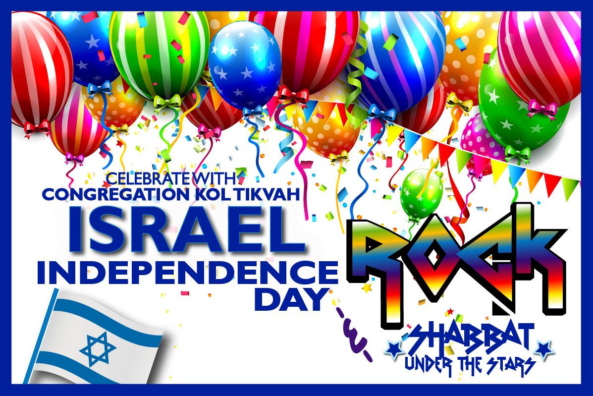ISRAEL INDEPENDENCE DAY/ROCK SHABBAT