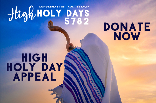 CKT HIGH HOLY DAY APPEAL