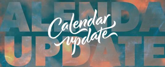 Scheduling Updates!