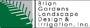 Brian Gardens Landscape & Irrigation, Inc. Logo