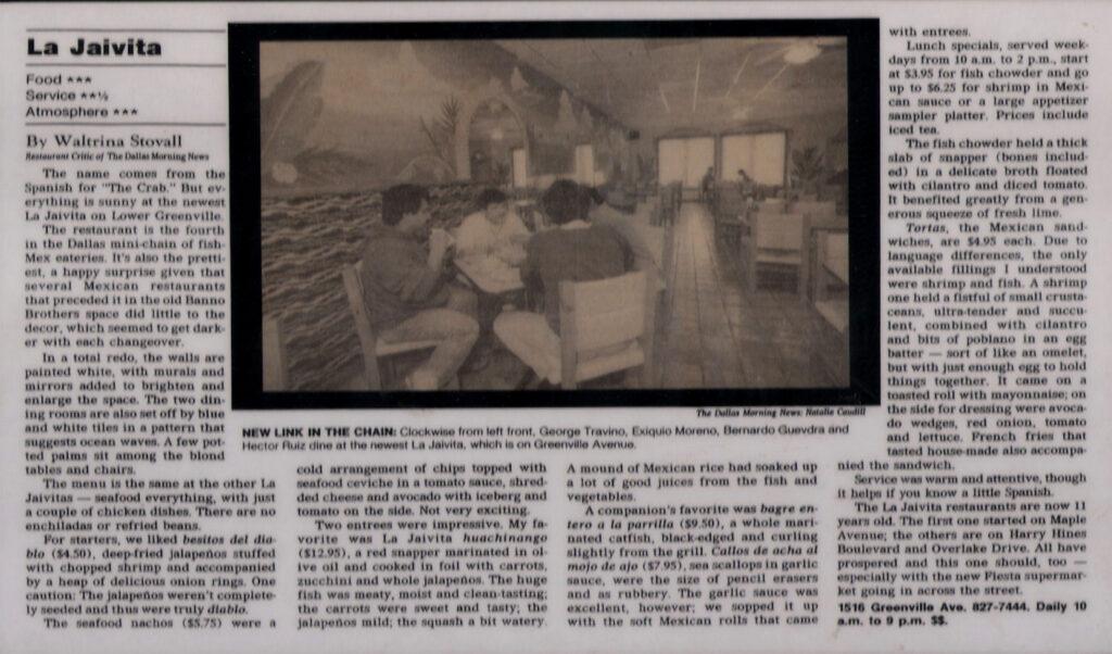 La Jaivita Observer 1995
