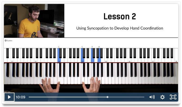 Piano In 21 Days Hand Coordination Course