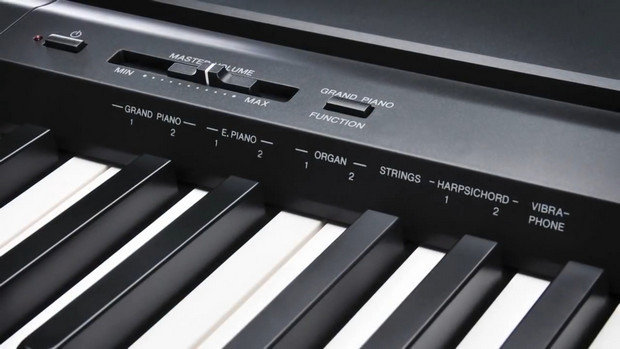 Yamaha P-45 Labels