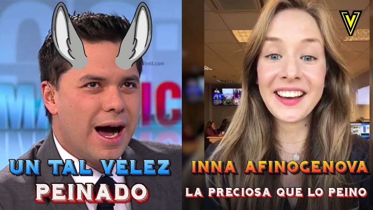 """INNA AFINOGENOVA PEINA A LUIS CARLOS VELEZ (manipulación rusa en Colombia) """"INNA VICKY"""""""