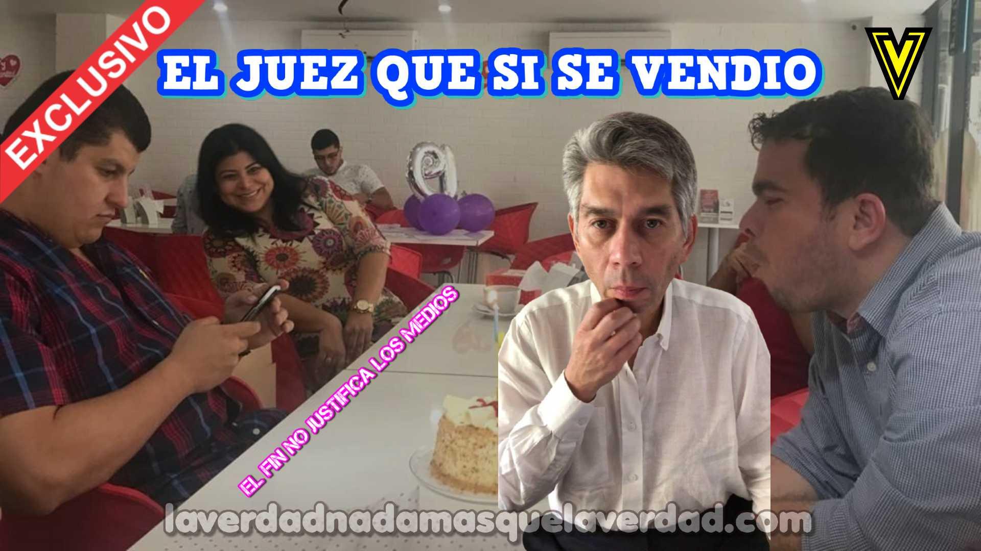 """EL JUEZ QUE SI SE VENDIO. ANDRES RODRÍGUEZ CAEZ DANIEL CORONELL EDUARDO PULGAR 3 """"IMPOLUTOS"""""""