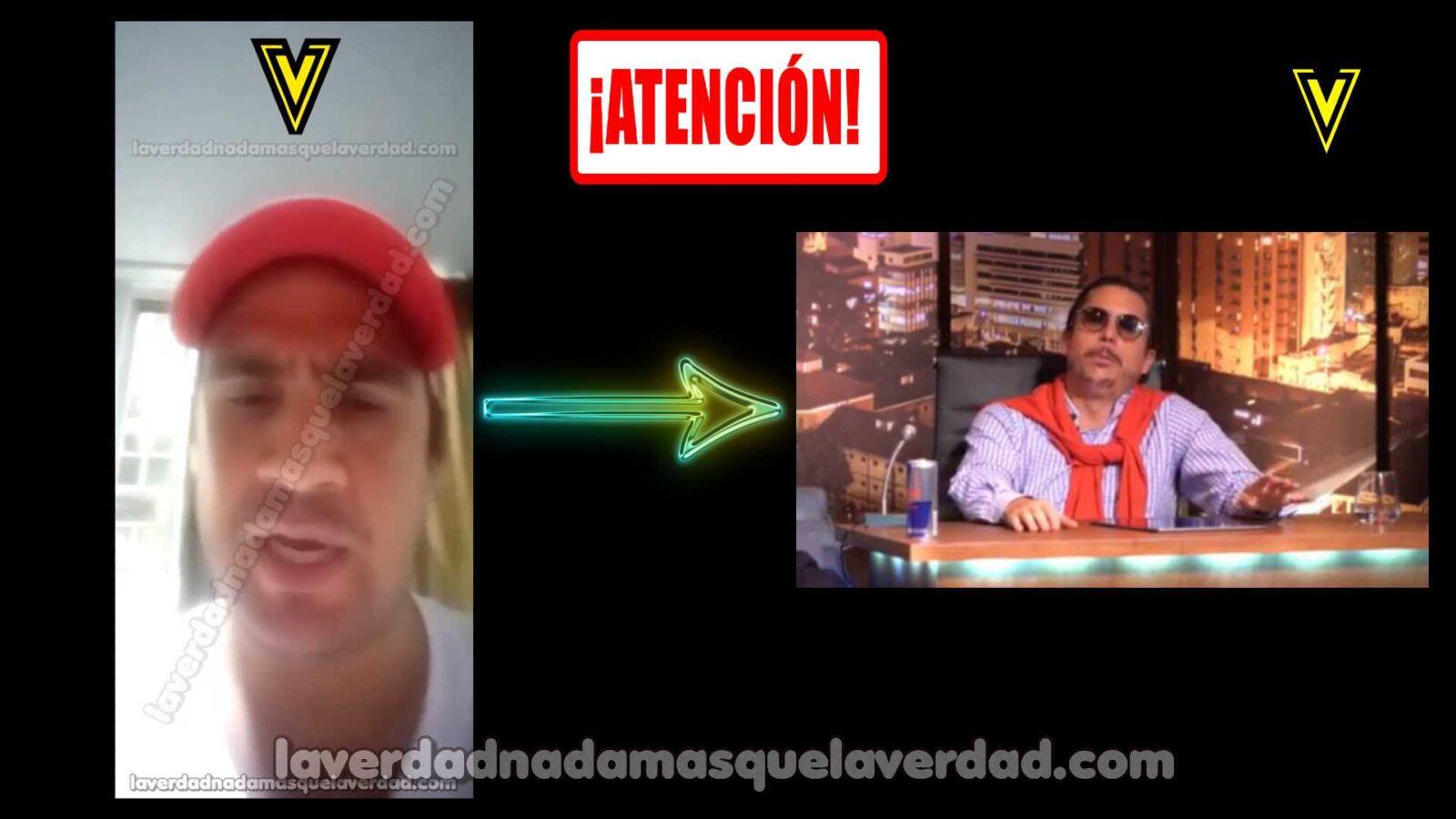 → EN VIDEO JUAN PABLO GARCÍA LE PIDE DISCULPAS ALEJANDRO RIAÑO 【JUANPIS】 POR AMENAZAR A SUS GEMELOS