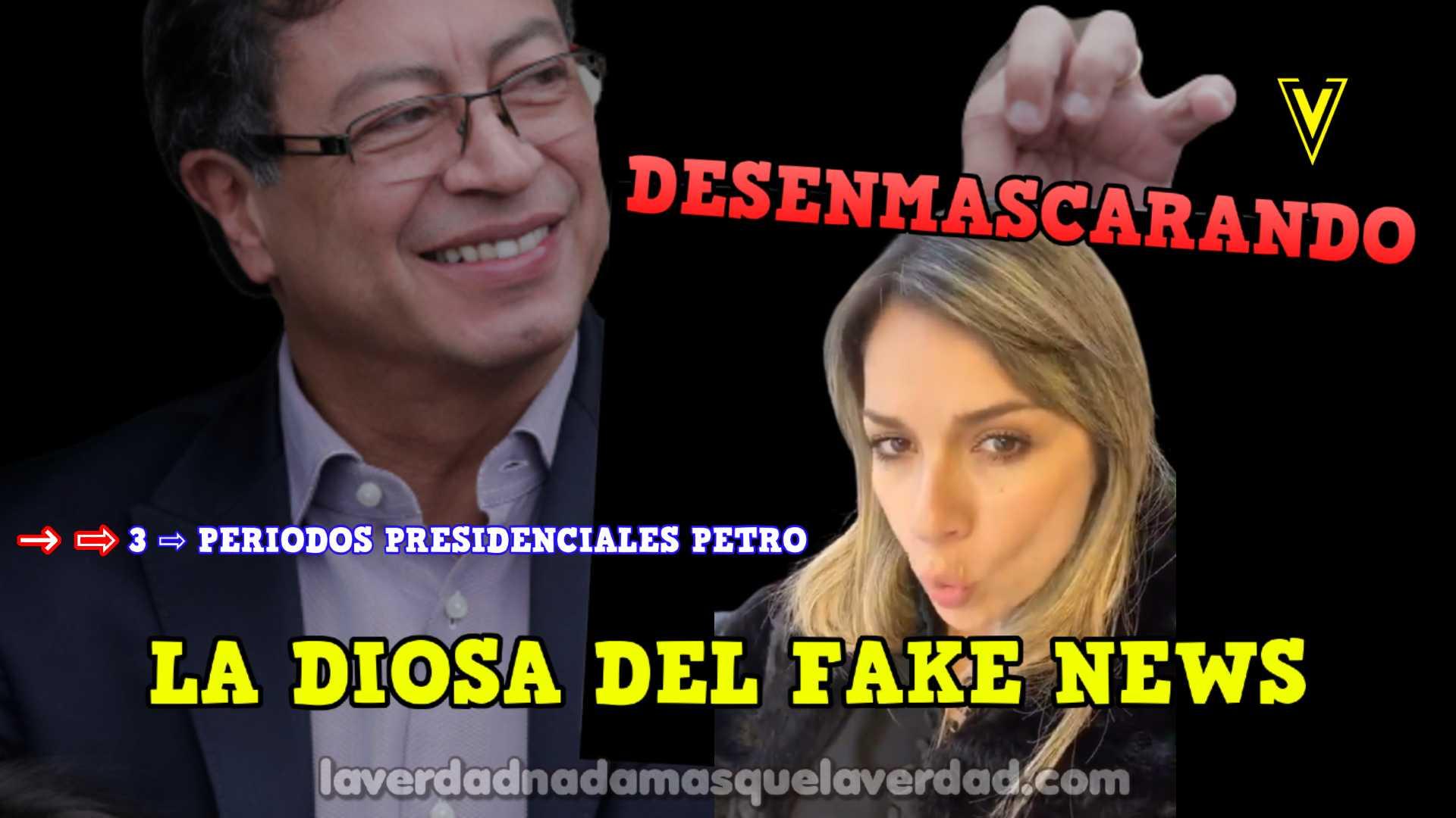 ⭐️ → DESENMASCARANDO LA DIOSA DEL FAKE NEWS VICKY DAVILA SOBRE LOS 3 PERIODOS PRESIDENCIALES PETRO