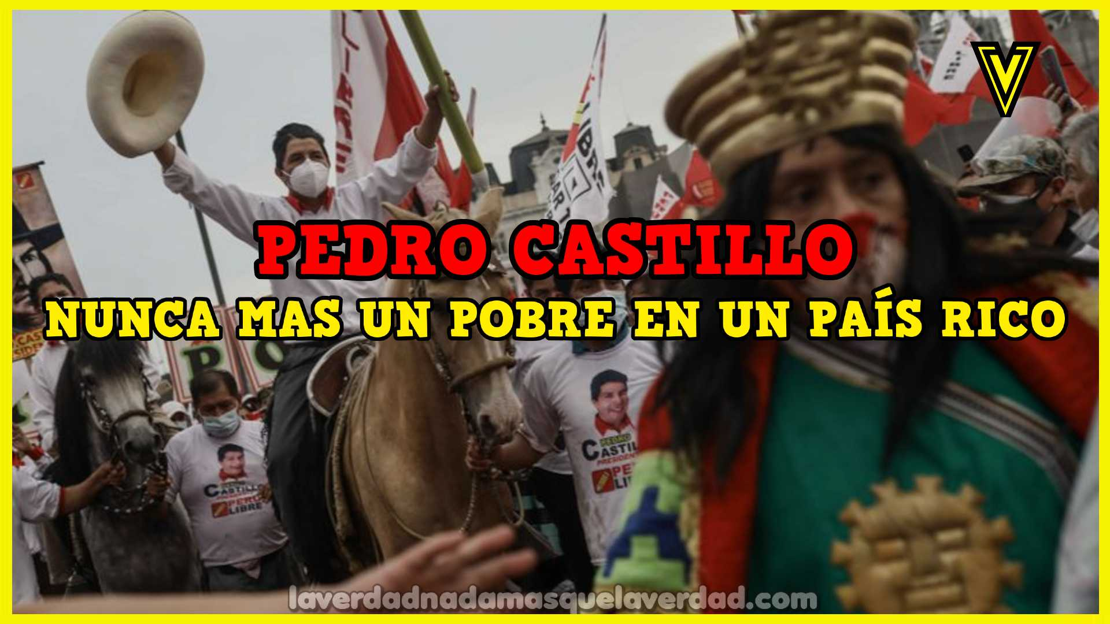 José Pedro Castillo Terrones
