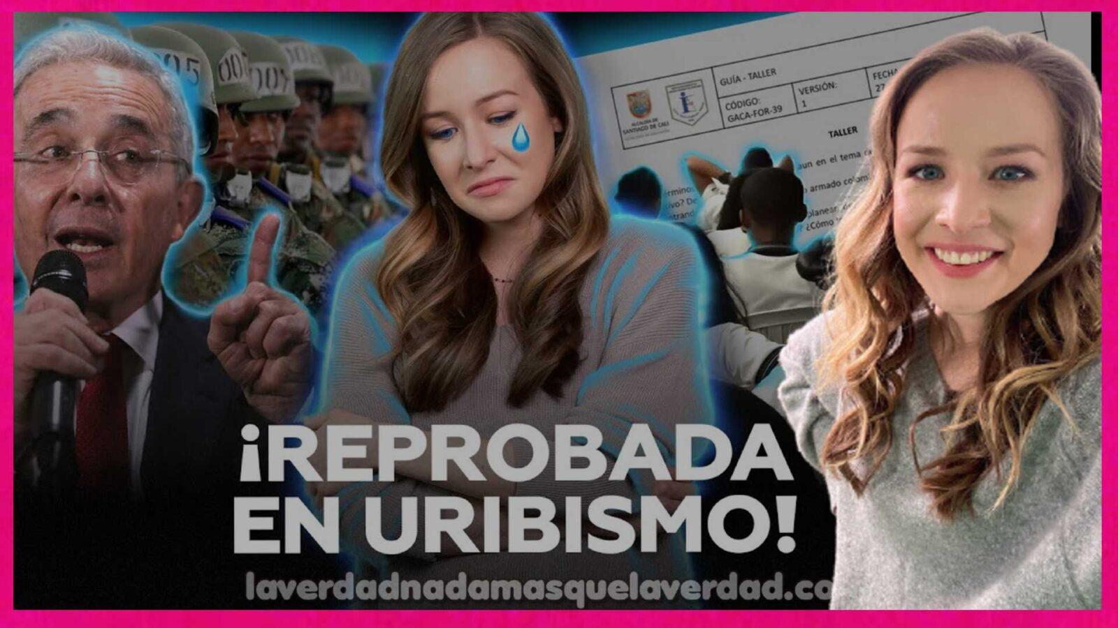INNA AFINOGENOVA HISTORIA GENOCIDA DE URIBE VELEZ