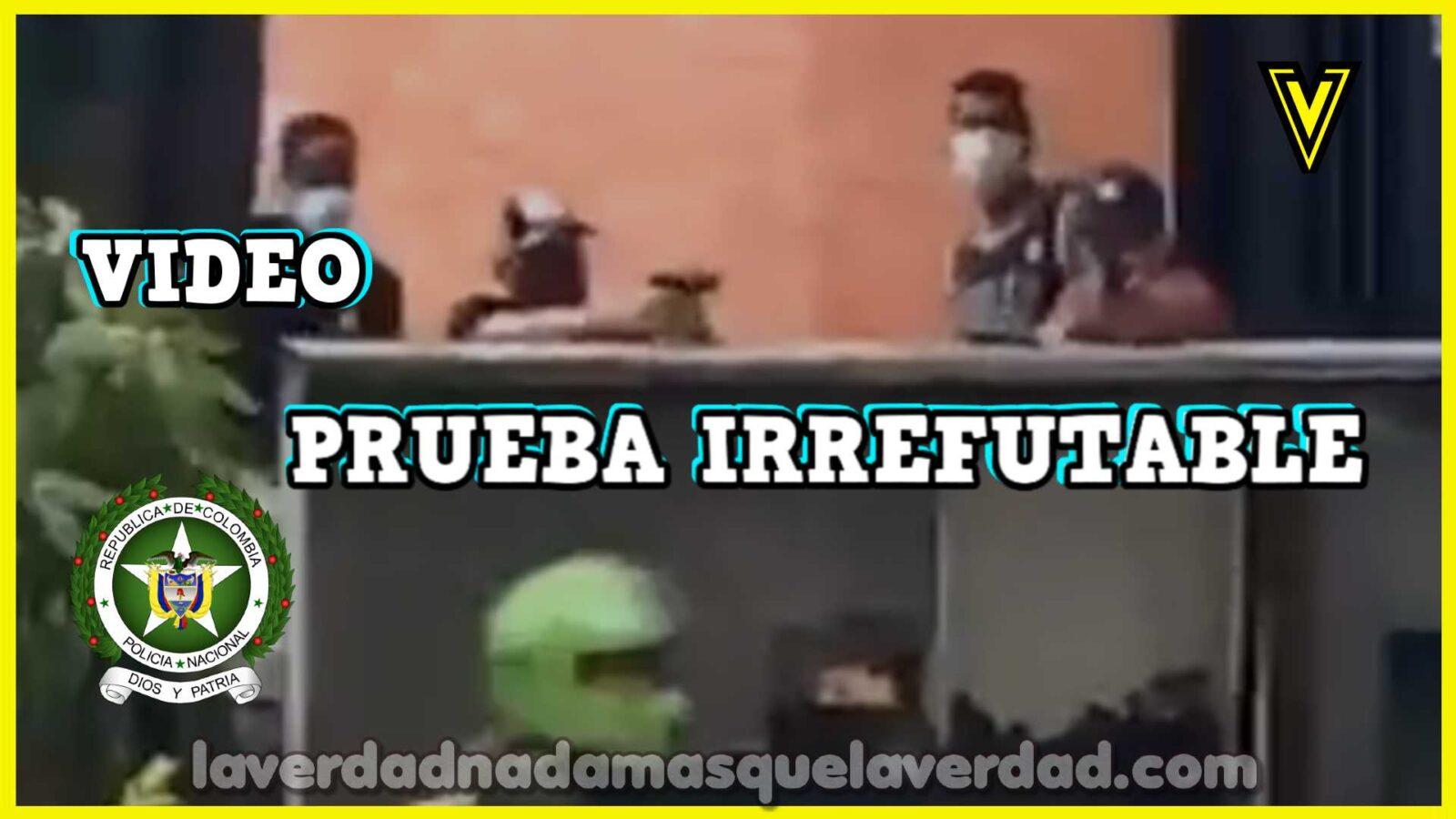 POLICIA DE COLOMBIA ASESINA EN VIDEO