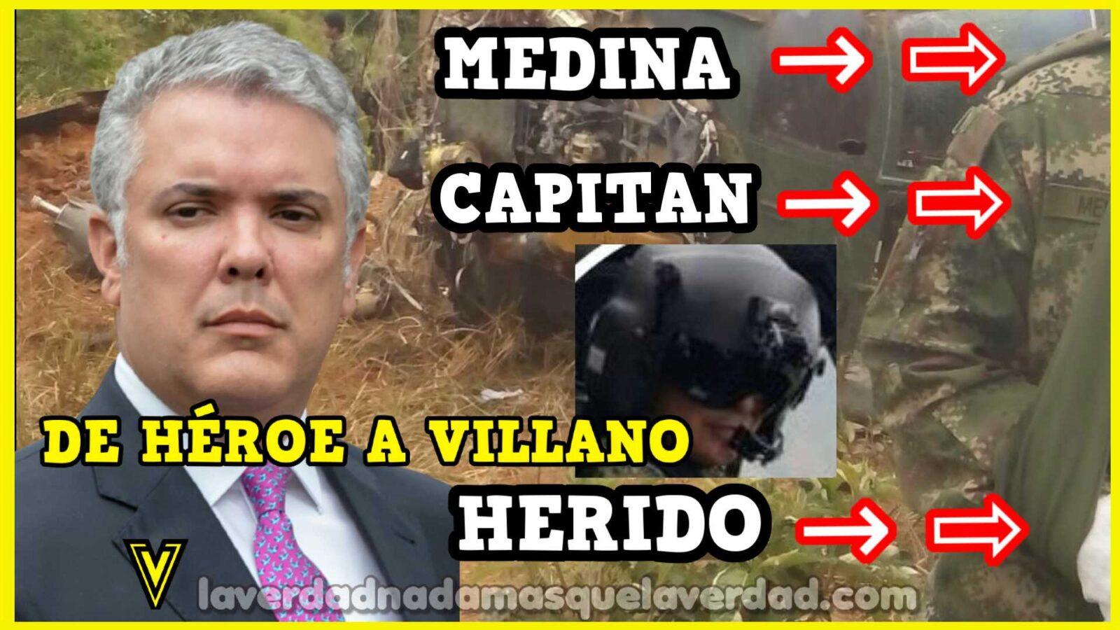 ANDRES FERNANDO MEDINA RODRIGUEZ EL CAPITAN DEL EJERCITO VINCULADO AL ATENTADO CONTRA IVAN DUQUE