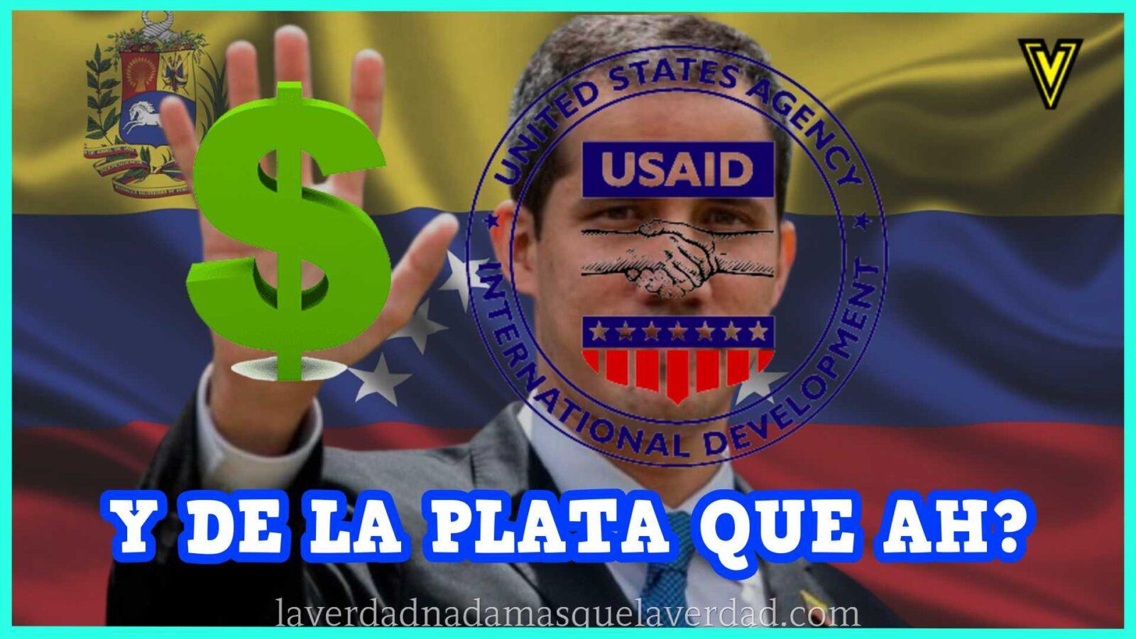 500 millones de dólares entregados por la USAID para ayuda humanitaria a los venezolanos