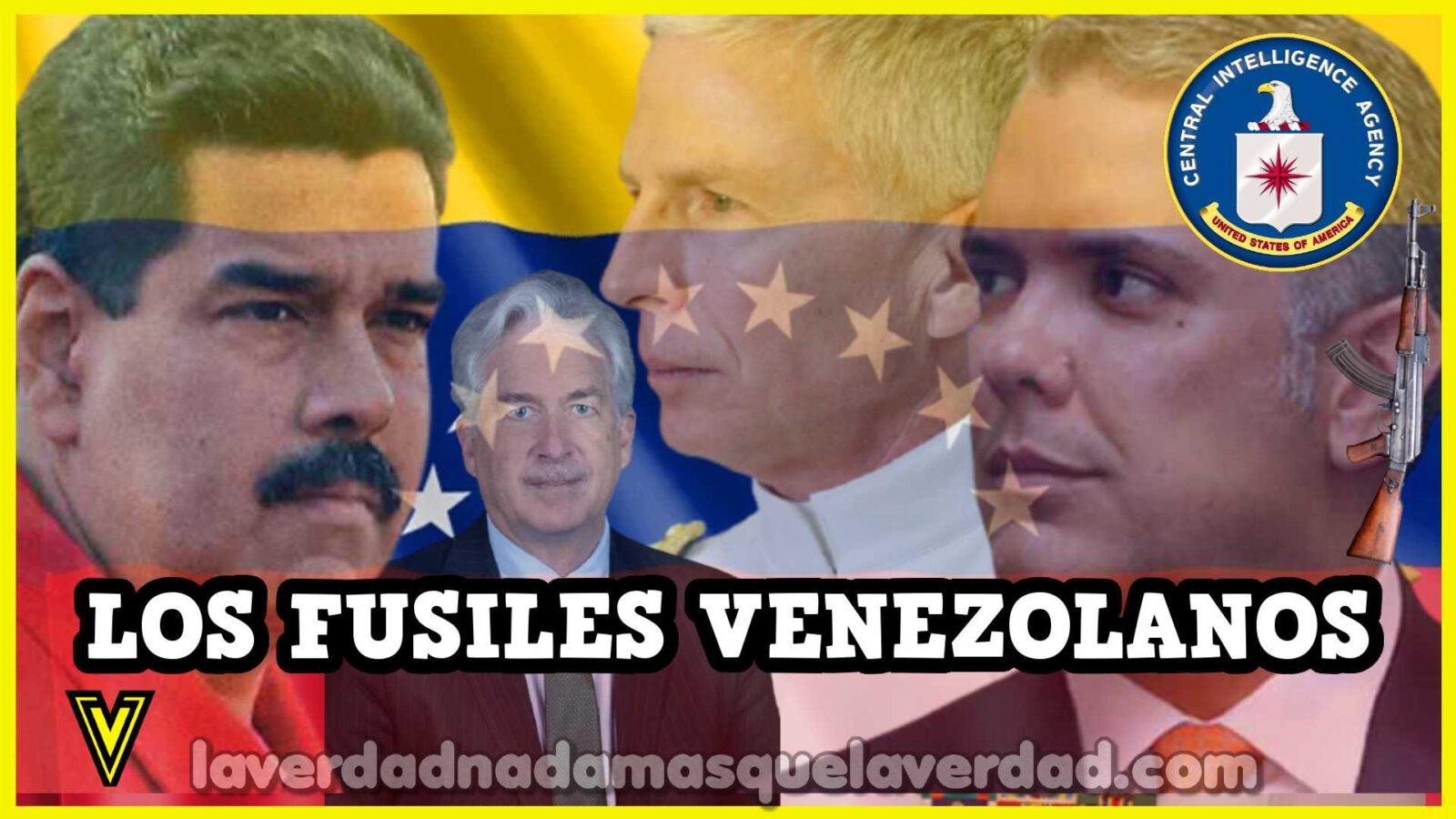 MADURO-DUQUE-FUSILES-VENEZOLANOS-ATENTADO